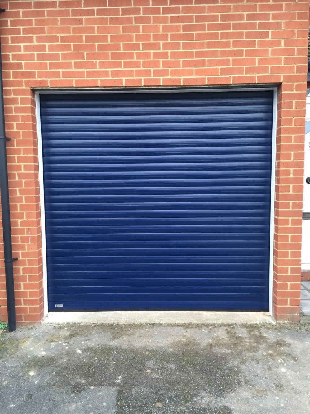 seceuroglide roller garage door thame fitted in Thame, Oxfordshire by Shutter Spec Security