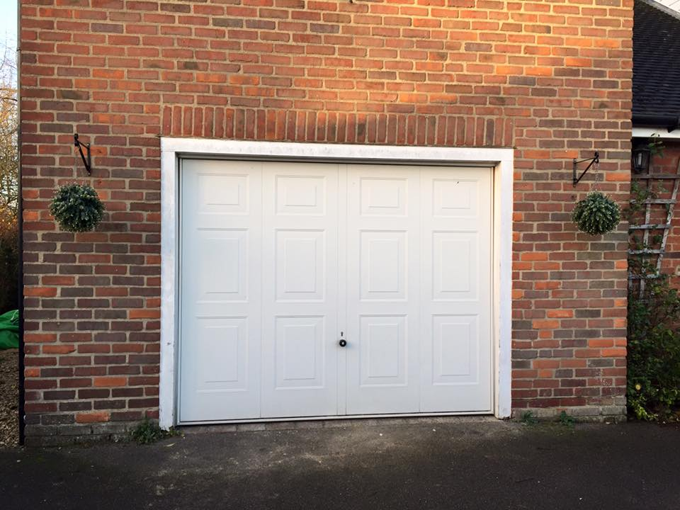 previous up and over door replaced by Shutter Spec Security
