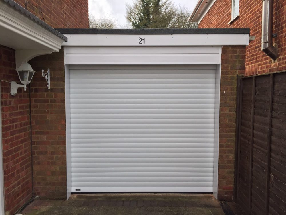 SeceuroGlide Roller Garage Door installed in Longwick, Buckinghamshire by Shutter Spec Security