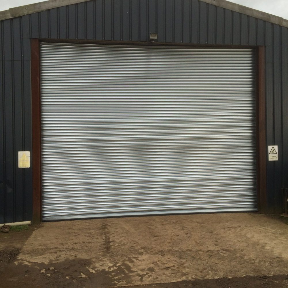 SeceuroDoor Industrial Door installed in Haddenham, Buckinghamshire by Shutter Spec Security