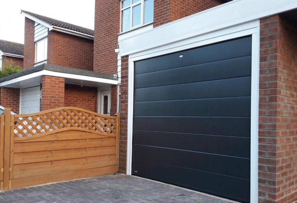 Electric Sectional Garage Door