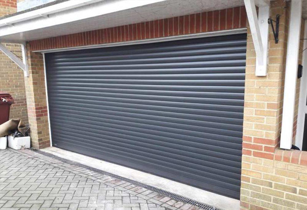 Double Seceuroglide Roller Garage Door