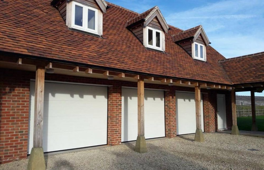 Seceuroglide Ribbed Electric Garage Doors