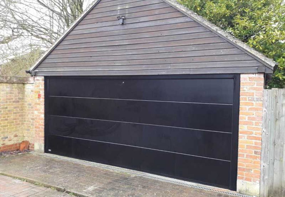 Seceuroglide Sectional Double Garage Door